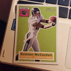 Keenan McCardell football card
